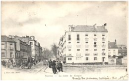 44 NANTES - La Route Rennes - Nantes