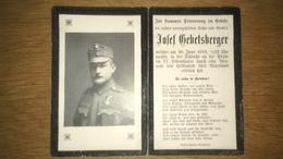 Sterbebild Wk1 Ww1 Bidprentje Avis Décès Deathcard KUK PIAVE 20. Juni 1918 - 1914-18