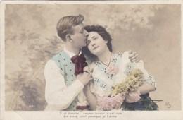 Couple In Love, Couple Romanique, Flowers, Edit A.S. (pk54382) - Couples