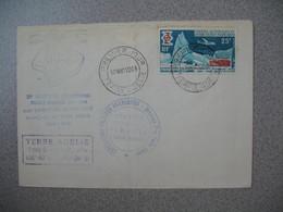 TAAF Lettre Terre Adélie  N°31  Du 17/3/1969 Station Du Mont Polaire Missions Paul Emile Victor - Covers & Documents