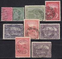 TASMANIEN - MiNr: Partie 9x  Used - 1853-1912 Tasmania