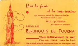 Buvard Ancien BERLINGOTS DE TOURNAI - Buvards, Protège-cahiers Illustrés