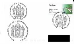SPAIN. POSTMARK ATM SEVILLA 2018. BRIDGE - Marcofilia - EMA ( Maquina De Huellas A Franquear)