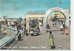 CARD BORDIGHERA  CAMPING SAN MARCO PUB.TIRO A VOLO  FG-V--2-0882-28546 - Imperia