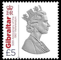 Gibraltar 2017 Micheln°  1801 *** MNH Referendum 1967 - Gibraltar