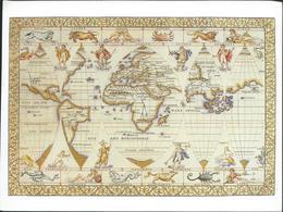 The Art Of Cartography - World Map - Mapas