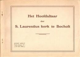 Het Hoofdaltaar Der S. Laurentius Kerk Te Bocholt Mapje (15 X 20cm) Met 16 Prenten (zie Scans !!!!) - Bocholt