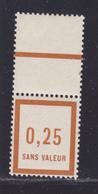 FRANCE FICTIF N°   F8 ** MNH Timbre Neuf Sans Trace De Charnière, Avec Bord De Feuille, TB (d106) - Phantomausgaben