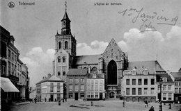 (87)   CPA  Tirlemont  Eglise St Germain   (Bon Etat ) - Bélgica