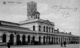 (87)   CPA  Tirlemont  La Gare   (Bon Etat ) - Bélgica