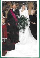 ! - Belgique - CP - Mariage De Philippe Et Mathilde, Roi Et Reine De Belgique - Familles Royales