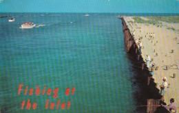 Fishing At Indian River Inlet Delaware 1963 - Fishing