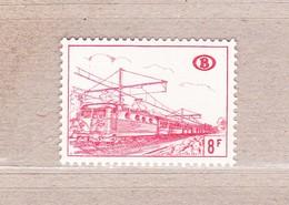 1968 TR385** Zonder Scharnier (A:Dof Papier/Papier Terne).Locomotieven. - Railway