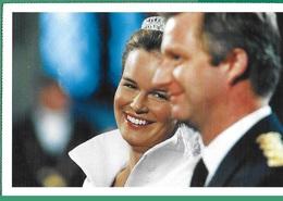 ! - Belgique - CP - Mariage De Philippe Et Mathilde, Roi Et Reine De Belgique - Koninklijke Families