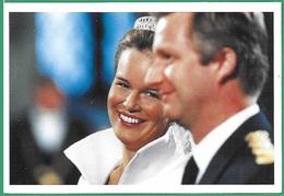 ! - Belgique - CP - Mariage De Philippe Et Mathilde, Roi Et Reine De Belgique - Royal Families
