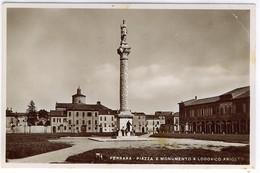 FERRARA PIAZZA E MONUMENTO A LODOVICO ARIOSTO - Ferrara