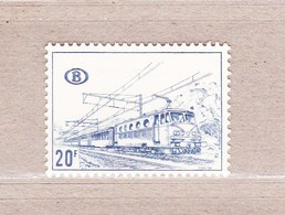 1968 TR388** Zonder Scharnier (A:Dof Papier/Papier Terne).Locomotieven.OBP 1,5 Euro. - Railway