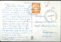 Postcard And Tax Stamp 1964 - 1945-1992 République Fédérative Populaire De Yougoslavie