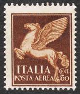 Italy - Scott #C13 MH - 6. 1946-.. Republic