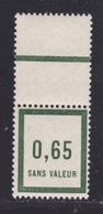 FRANCE FICTIF N°  F13 ** MNH Timbre Neuf Sans Charnière, Avec Bord De Feuille, TB (d111) - Fictifs