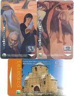 @+ Chypre - Lot De 3 Cartes (lot 2) - Chypre