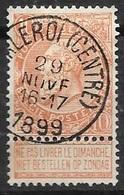 57 - Leopold II - Fijne Baard - 10c - Obl CHARLEROI - 1899 - 1893-1900 Fine Barbe