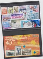 TAAF Année 1995 Compléte 12 T + 1 Bloc Feuillet Neufs Xx N°YT 194 à 202  PA 134 à 136 BF2 - Franse Zuidelijke En Antarctische Gebieden (TAAF)