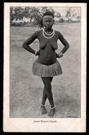 Congo - Jeune Femme D'Upoto - Seins Nus - Nue Ethnique - Photo F. DRICOT - Kinshasa - Léopoldville