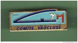 GYM *** FFG *** COMITE VAUCLUSE *** 0063 - Gymnastique