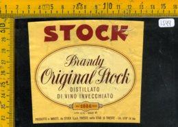 Etichetta Vino Liquore Brandy Stock  Trieste - Etichette