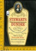 Etichetta Vino Liquore Scotch Whisky Stewarts Dundee Scotland - Etichette