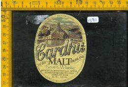 Etichetta Vino Liquore Scotch Whisky Cardhu Malt - Etichette
