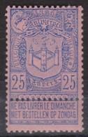 BELGIQUE 1894:  Le 25c 'Exposition D'Anvers', Neuf * - 1914-1915 Rode Kruis