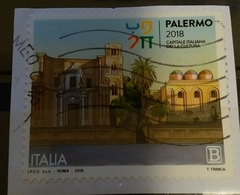 Italia 2018 Palermo 2018. Capitale Italiana Della Cultura. Valore Usato - 6. 1946-.. Repubblica