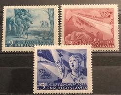 Yugoslavia, 1950, Mi: 598/00 (MH) - Nuovi