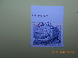 FRANCE 2016 YTN° 5044  BICENTENAIRE NAVIGATION A VAPEUR  Timbre Neuf Oblitéré Cachet Rond  Numéroté - Used Stamps