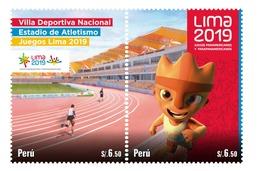 Peru 2019 Lima 2019 Panamerican Games Sports - Peru
