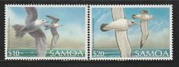 SAMOA - N°702/3 ** (1989) Oiseaux - Samoa