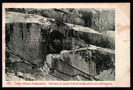 Angola - Congo - Estado Independente - Cataratas De Jayalla Padrao Da Descoberta Pelos Portuguezes - Ed. OSORIO & SEABRA - Angola