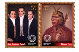 Peru 2019 Bicentenary Of Independence - Peru
