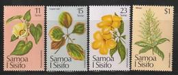 SAMOA - N°502/5 ** (1981) Fleurs - Samoa
