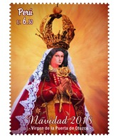Peru 2019 Christmas 2018 Religion Virgen De La Puerta De Otuzco - Peru
