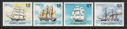 SAMOA - N°480/3 ** (1981) Bateaux : Voiliers - Samoa