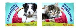 Peru 2019 America UPAEP Pets Cat & Dog - Peru