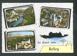 CPM:  01 - EN DIRECT DE BELLEY ..- MULTI-VUES - Belley