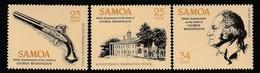 SAMOA - N°506/8 ** (1982) George Washigton - Samoa