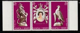 SAMOA - N°410/2 ** (1978) Elizabeth II - Samoa