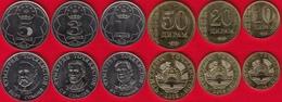 Tajikistan Set Of 6 Coins: 10 Diram - 5 Somoni 2018 UNC - Tajikistan
