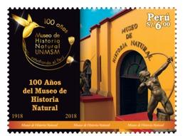 Peru 2019 100 Years Of Natural History Museum Bird - Peru