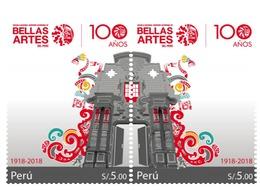 Peru 2019 100 Years Of National Arts School - Peru